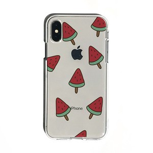 iPhone soft Clear Case Watermelon Ice
