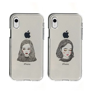 Smartphone Cases soft Clear Case Girl