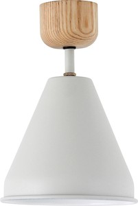 【3color】(電球あり)COLOR & WOOD 1BULB CEILING LIGHT_カラーアンドウッド1灯シーリングライト
