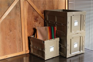 【3color】molding_CONTAINER ボックス_L 50L_モールディングコンテナボックス