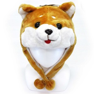 A/W Fashion Accessory Party Fluffy Animal Hats & Cap Shiba Dog