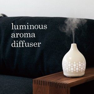 Aroma Diffuser Snow Crystal Image Pottery Mist Diffuser