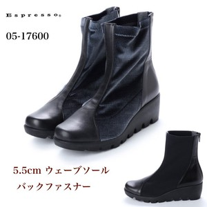 Stretch Combi Wave Sole Bag Fastener Boots