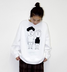 Raised Back Big Pullover Couple