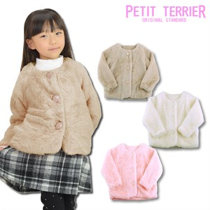 2018 A/W Toddler Fur Jacket