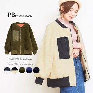 Patch Pocket Color Blouson