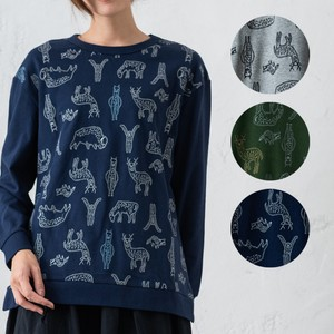 Animal Embroidery Tunic Alpaca