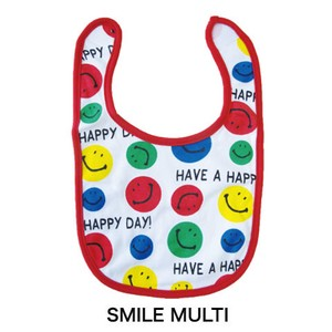 Baby Baby Bib SMILE Colorful