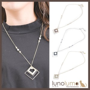 Rhombus Design Pendant Necklace