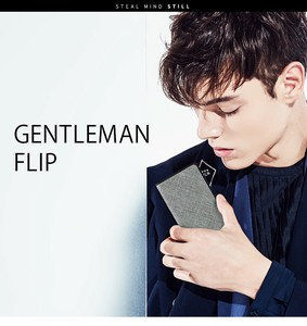 【iPhone XS Max】【iPhone XR】GENTLEMAN FLIP(ジェントルマンフリップ)