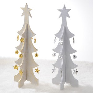 Wood Christmas Tree Slim Long Bali