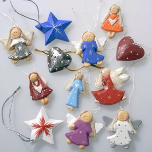 Angel Ornament 10 Pcs Assort Bali