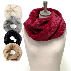 Heart Fur Twist Snood 2018 A/W Stole Scarf