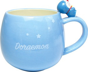 Doraemon Figure Attached Mug