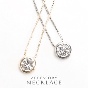 Zirconia Round Necklace