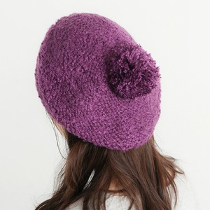 Boucle Knitted Beret
