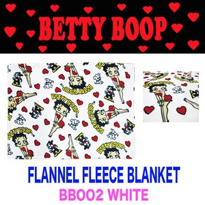 Fleece Blanket Flannel Blanket A/W Betty