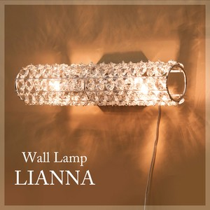 Crystal Wall Lamp Lightning Type