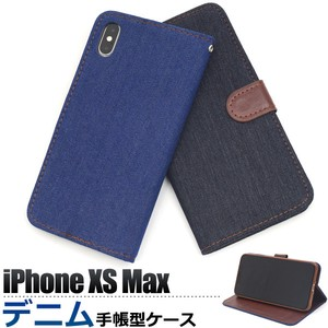 Smartphone Case iPhone Denim Design Notebook Type Case