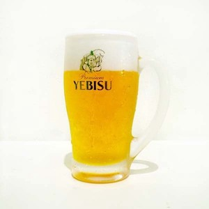 Food Product Sample EBISU Beer Cup Economical Artisans Handmade