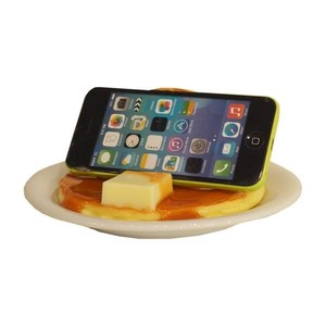 [2019NewItem] Smartphone Stand Maple Hot Cake Food Product Sample Interior