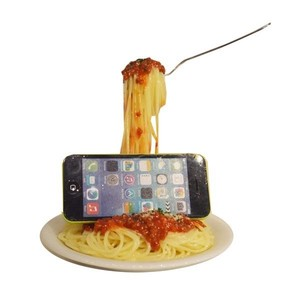 Smartphone Stand Food Product Sample Meat Interior
