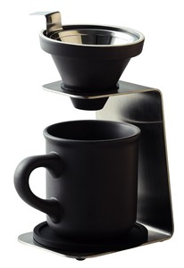 Drip Coffee Set Gray