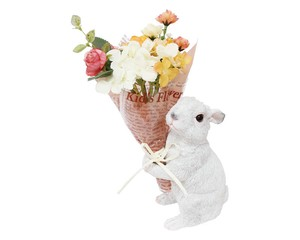 Bouquet Rabbit White Air Beautiful