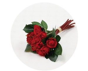 Bouquet Rose Red Air Beautiful