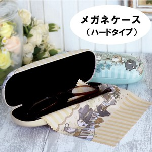 Eyeglass Case Hard Type Cat Music Cat Cafe