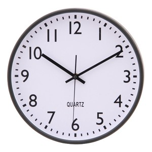 Wall Clock Index 2 Colors White Black