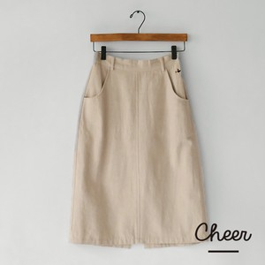 Big Cotton Duck Skirt