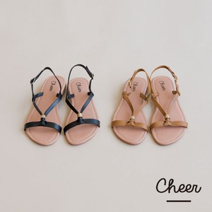 Leather Knot Sandal