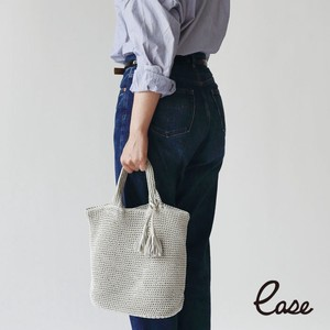 Point Reduction Raster Oval Bottom Tote Bag