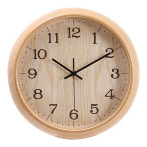 Industrial Vintage Style Round. Source · Wall Clock 30cm 2 Colors Natural .