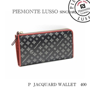 Jacquard Brand Weaving Water-Repellent Round Long Wallet