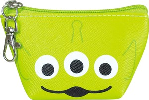 Disney Triangle Mini Pouch Face Alien
