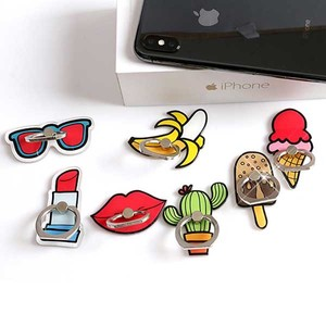 Smartphone Ring Pop Sunglass Lip Banana Cactus Ice