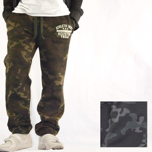 2018 A/W College Print Jersey Stretch Camouflage Sweat Pants