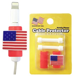 America National Flag USB Cable Portable Smartphone USB Accessories American