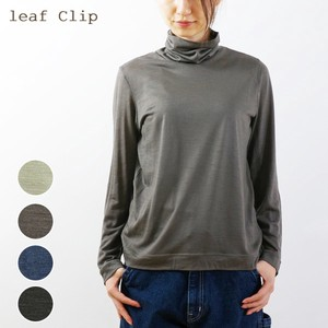 2018 A/W Wool Turtle Neck T-Shirt Shirt Inner Natural