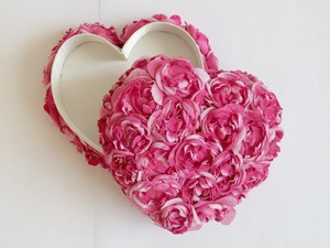 Rose Heart Box Flower