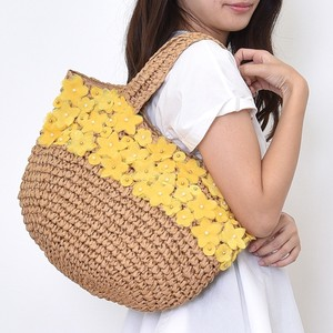 Big Flower Motif Bag