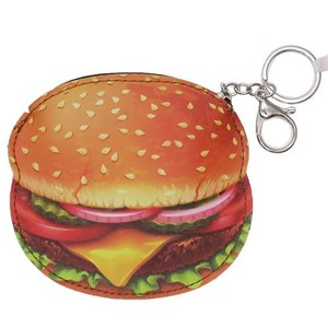 Gift Die Cut Coin Case Hamburger Real Parody