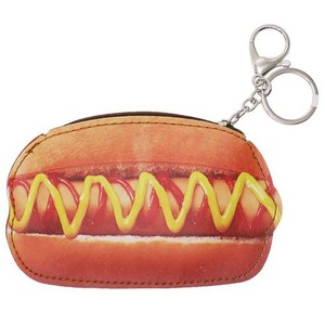 Gift Die Cut Coin Case Hot Dog Real Parody