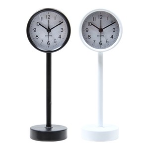 Table Clock Stand 2 Colors Black White