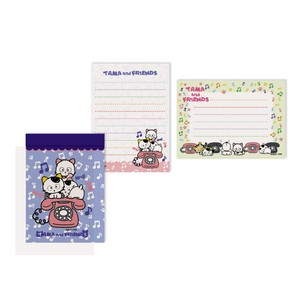Tama&Friends Memo pad Cat