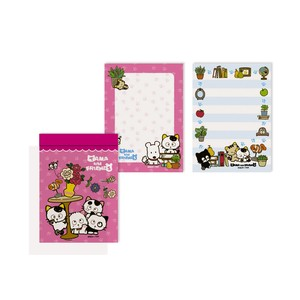 Tama&Friends Memo pad Table Cat
