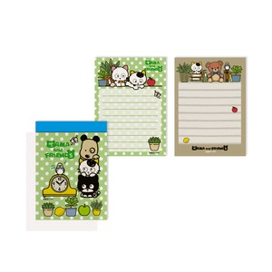 Tama&Friends Memo pad Clock Cat