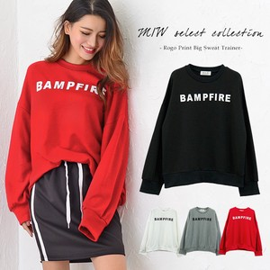 Print Big Sweat Sweatshirt Top Casual Korea Ladies